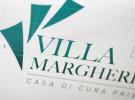 Progetto del nuovo logo della Casa di Cura Privata Villa Margherita, a Vicenza.