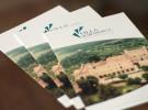 Progetto di graphic design per la nuova immagine della Casa di Cura Privata Villa Margherita, a Vicenza.
