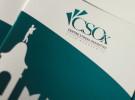 """Immagine Coordinata CSOx, Centro per lo Studio e la Cura dello Stress Ossidativo. Dipartimento della """"Casa di Cura Privata Villa Margherita"""" di Arcugnano, a Vicenza. Logo Design, Brand Identiy, corporate."""