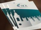 """Immagine Coordinata per CSOx, Centro per lo Studio e la Cura dello Stress Ossidativo. Dipartimento della """"Casa di Cura Privata Villa Margherita"""" di Arcugnano, a Vicenza. Logo Design, Brand Identiy, corporate."""
