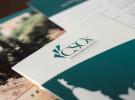 """Depliant CSOx, Centro per lo Studio e la Cura dello Stress Ossidativo. Dipartimento della """"Casa di Cura Privata Villa Margherita"""" di Arcugnano, a Vicenza. Logo Design, Brand Identiy, corporate."""