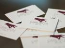Realizzazione del logo e dei biglietti da visita per Carlotta gloves, Venezia. Logotipo, Marchio, Grafica, Graphic design, Creative Design, Officina11 Studio, Comunicazione, Vicenza.