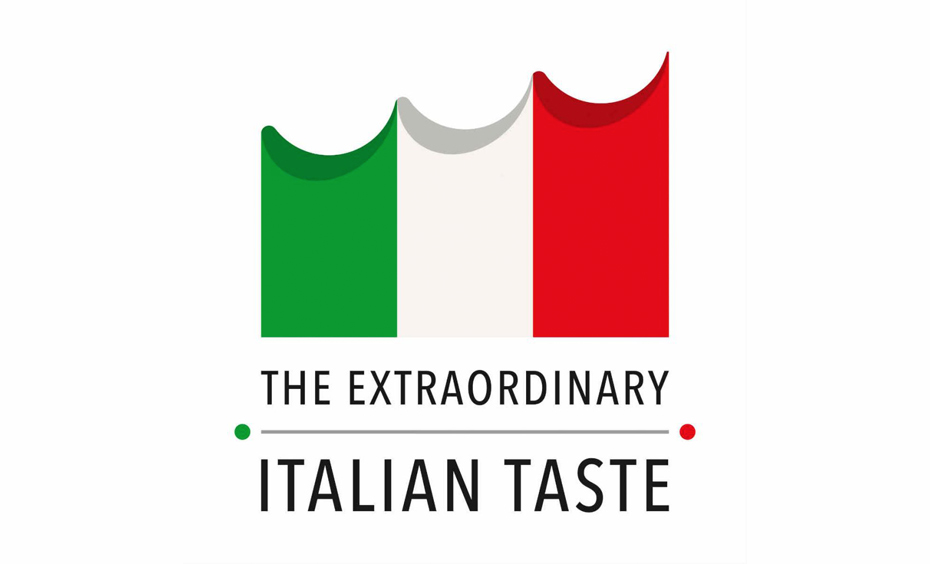 The extraordinary italian taste, logo, gusto italiano, expo 2015, milano, gusto, marchio, qualità italiana, made in italy