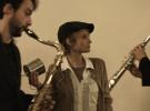 Giorgia Antonelli Titino Carrara Promo Strappatempo, Pipa e Pece, Milano Saxophone Quartet, Spettacolo Teatro Video Teaser Promo